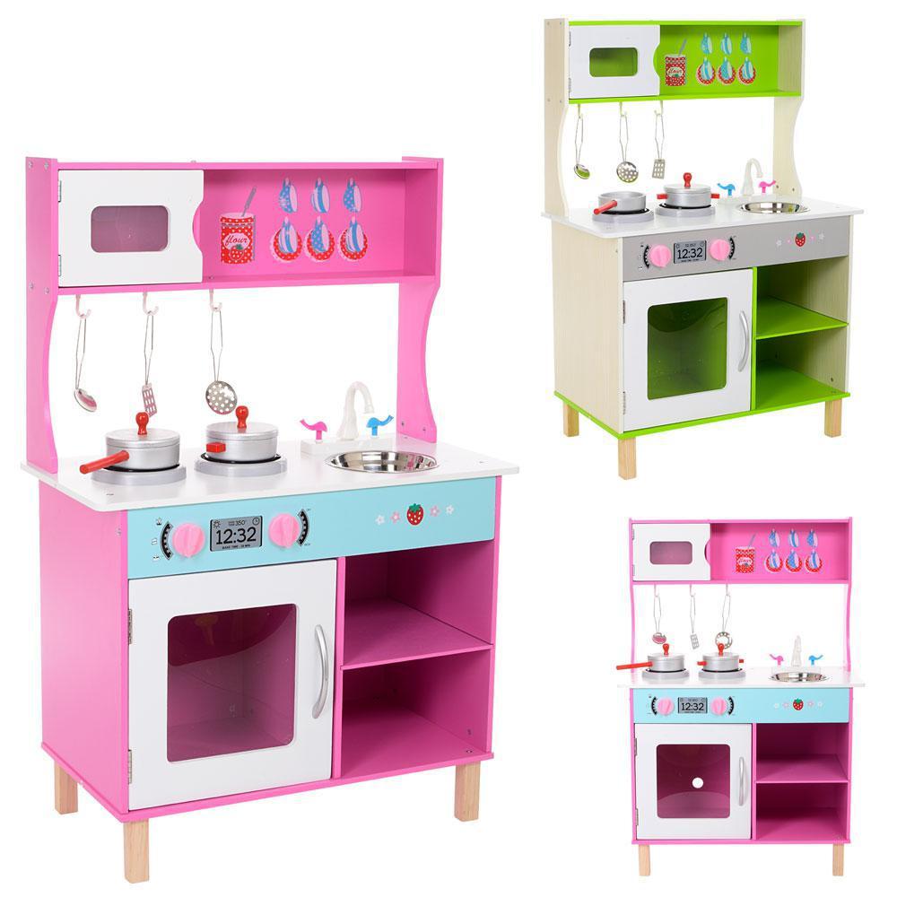 Кухня детская деревянная высокая 89 см 1209 ***
