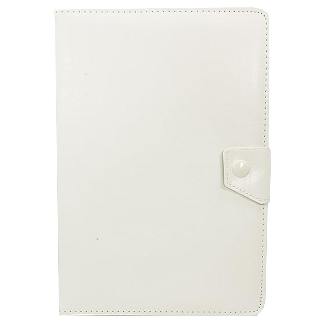 """Чехол универсальный 10 """" (Белый) защитный чехол - книжка для планшета Samsung Lenovo Xiaomi"""