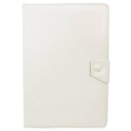 """Чехол универсальный 10 """" (Белый) защитный чехол - книжка для планшета Samsung Lenovo Xiaomi, фото 2"""