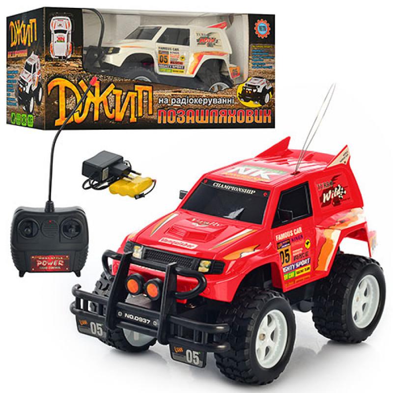 Машина 0937 джип на радіокеруванні, на акумуляторах, в коробці