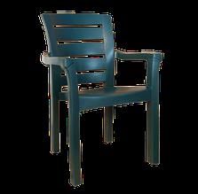 Крісло irak plastik didim зелене