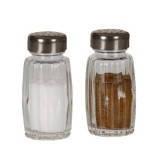 Набор солонка, перечница 50 мл стекло