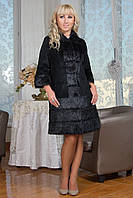 Нарядное  пальто  из  нутрии