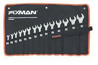Набор ключейкомбинированных Fixman B0909 14 шт на полотне