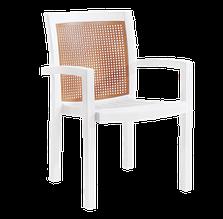Крісло papatya вира біле