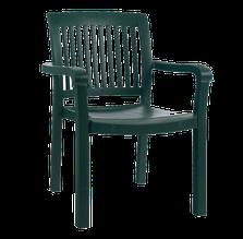 Крісло papatya містраль зелене