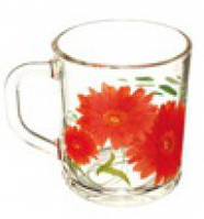 Кружка Гусь Хрустальний Green Tea 200мл стекло (07с1335 Гербера)