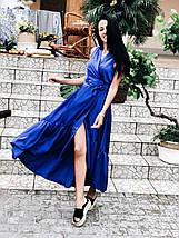 dce6fd0bc3f Асимметричное шелковое платье на запах