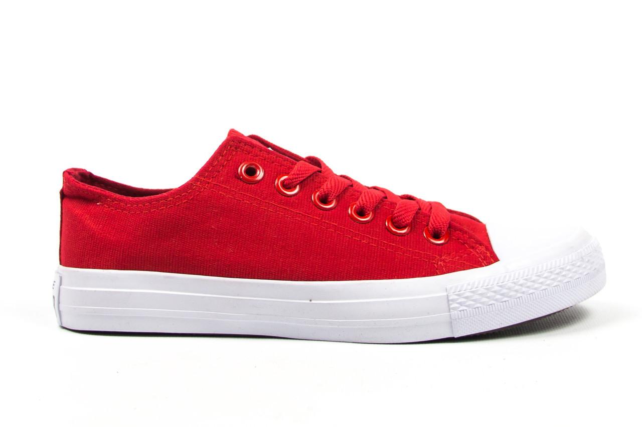 Кеды Converse All Star Женские конверс - red white (конверсы низкие). Топ d91b18b8115f2