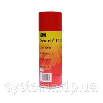 3m Scotch® 1617, 3m zinc spray - Цинковый аэрозоль, 400 мл, фото 2