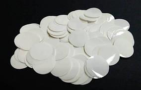 Конфетті гуртки - БІЛІ. Упаковка 10 грам