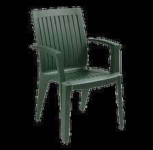 Крісло papatya алізе темно-зелене