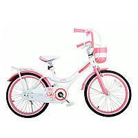 "Велосипед RoyalBaby JENNY GIRLS 20"", OFFICIAL UA, белый"