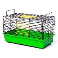 Клетка для кроликов и морских свинок  57х30х33,5см кольорова