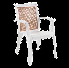Крісло papatya білий сапфір