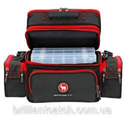 Сумка DAM Effzett Carryall Bag для рыбалки многофункциональная+3коробки  48x30х26см