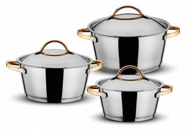 Набір посуду Lessner Gold Collection Penguen 55847 6шт.