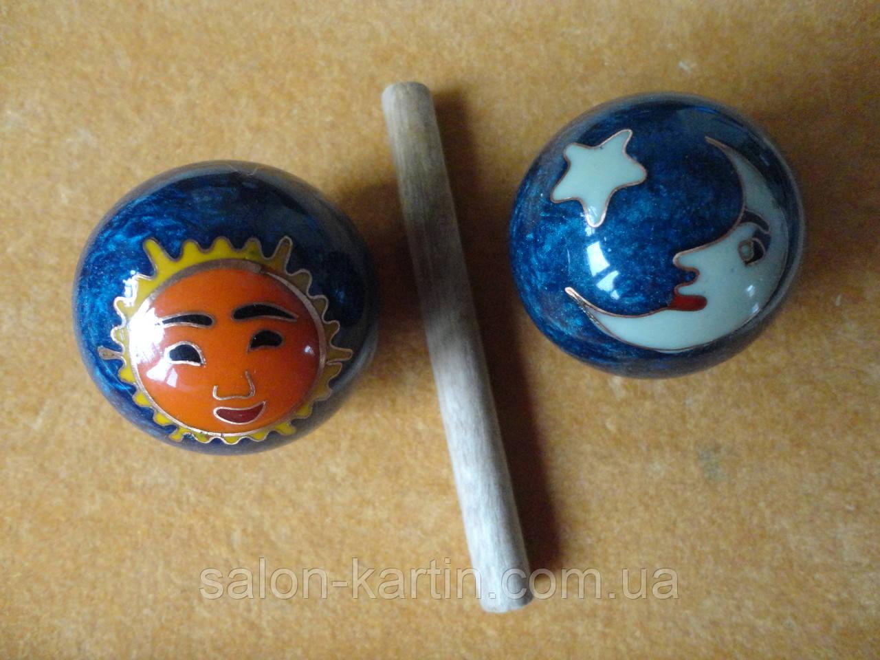 """Шары Баодинга (шары здоровья) """"Солнце и Луна"""""""