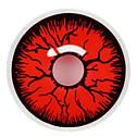 Линзы Темные Красные, фото 2