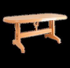 Стол irak plastik oval 70X120 тик