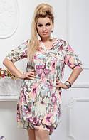 Платье женское в большом размере, фото 1