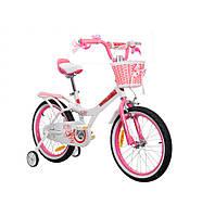 "Велосипед RoyalBaby JENNY GIRLS 12"", OFFICIAL UA, белый, фото 1"