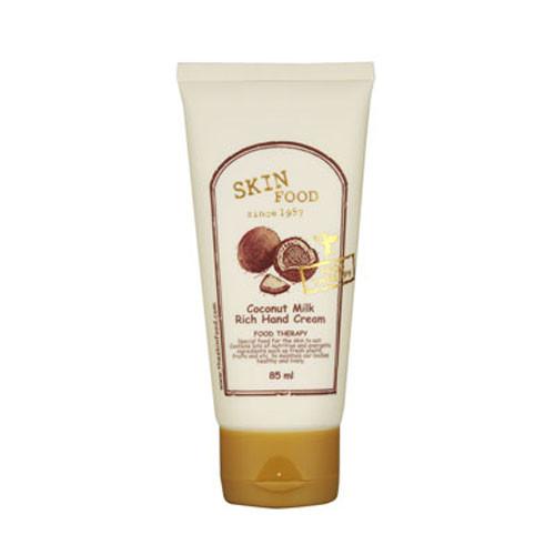 Питательный крем для рук с кокосом Skin Food Coconut Milk Rich Hand Cream