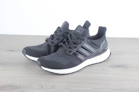 446849df3ee7 Мужские кроссовки Adidas Ultra Boost 3.0 Black White (Топ реплика ААА+),