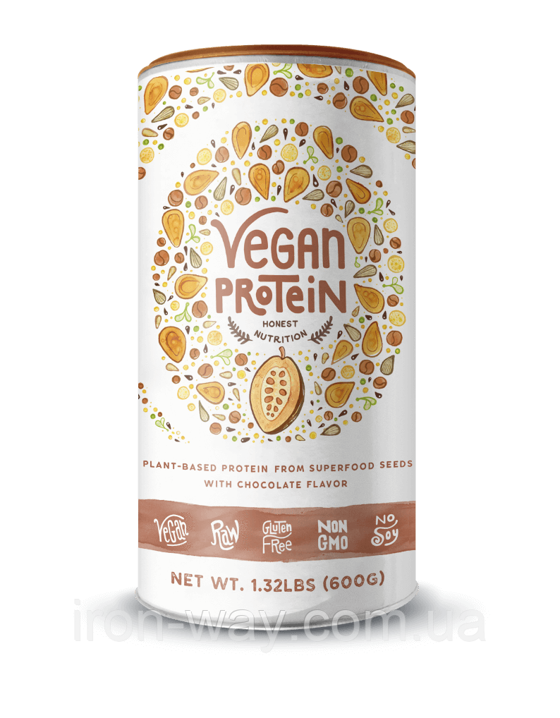 Alpha Foods Vegan Protein 600 g (Шоколад)