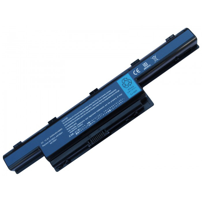 Аккумулятор PowerPlant AS10D41, GY5300LH для Acer Aspire 4551 Black (10.8V/4400mAh/6 Cells) (NB00000028)
