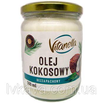 Кокосовое масло Vitanella , 0,5 л., фото 2