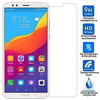 Защитное стекло Huawei Honor 7C Pro (Прозрачное 2.5 D 9H) (Хуавей Хонор 7С 7Ц Про)