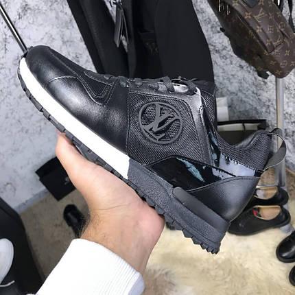 78ffda3441a8 Мужские кроссовки Louis Vuitton Run Away Black (Топ реплика ААА+), фото 2