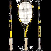 Ракетка для сквоша Harrow Vibe Jonathon Power Signature Edition, Black/Yellow