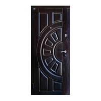 Дверь металлическая Саган МДФ 96 левая элит