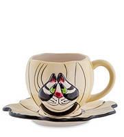 Чайная пара Веселый кот Pavone BS- 20