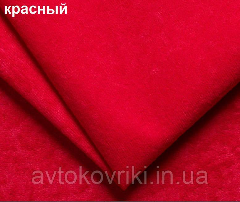 Чехлы на сиденья красные. Задний комплект. Авточехлы - фото 6