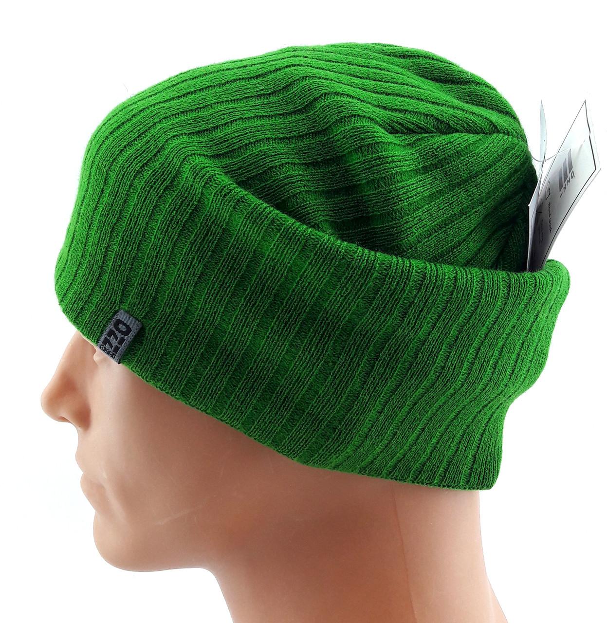 шапка вязаная чулок длинная польша Ozzi размер универсальный шбд24