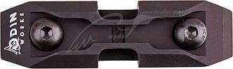 Низкопрофильный адаптер для сошек ODIN M-Pod на базу крепления M-LOK Цвет - Черный