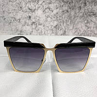 Dior Sunglasses Timeless Pieces Black And Gold-Tone (Топ реплика ААА+) 670320c4577