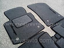 Ворсовые коврики передние  Volkswagen Touran  (2003-2015)