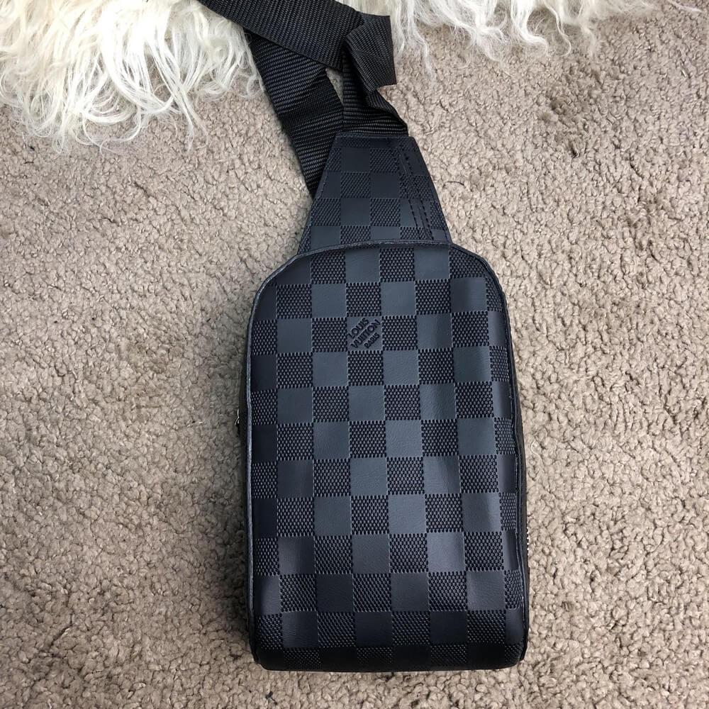 018cf83eaf84 Louis Vuitton Bumbag Damier Infini (Топ реплика ААА+) - Siwer - Интернет-