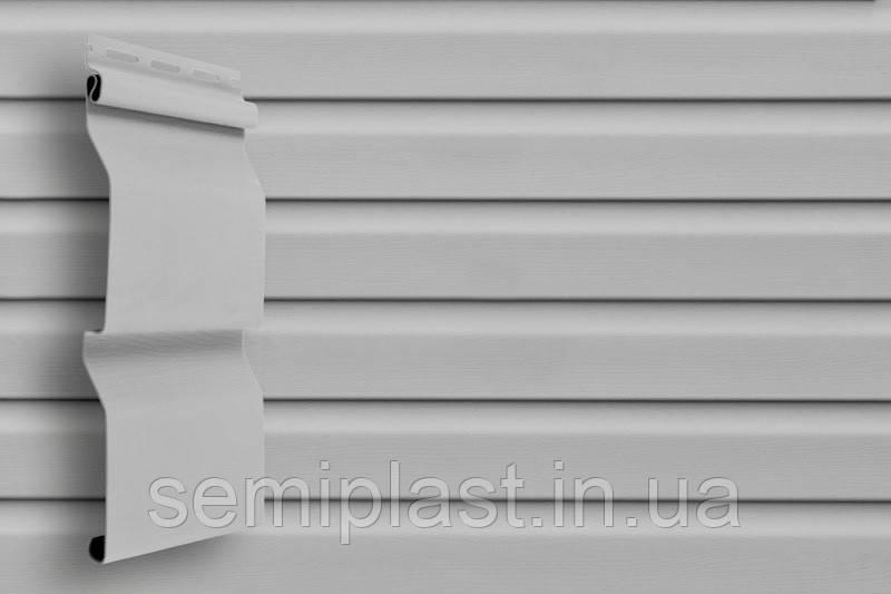 Сайдинг виниловый Grand Line Серый 3600 х 224 х 1,1 мм