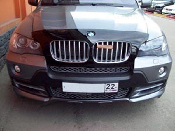 Дефлектор капота, мухобойка BMW Х5 Е70 2007-2014 VIP