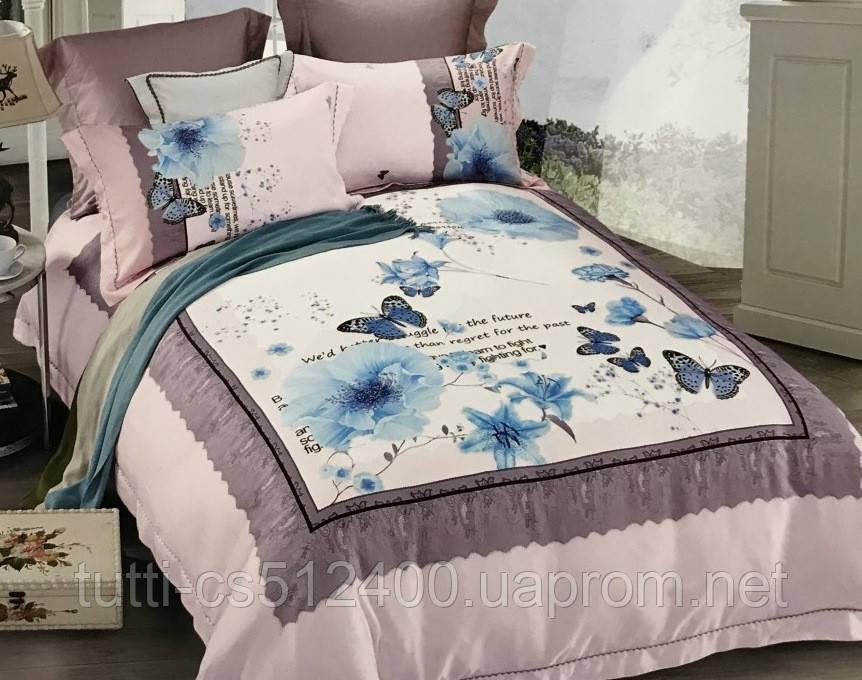 Комплект постельного белья Tencel lux 09854