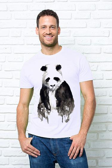 Футболка мужская Панда