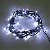 Светодиодная гирлянда Нить мерцающая 10 м, 100 LED, Каучук