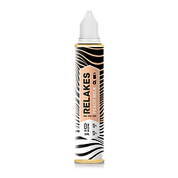 RELAKES Peach Milk - 30 и 60 мл., VG/PG 70/30 Пластик, 30, 4