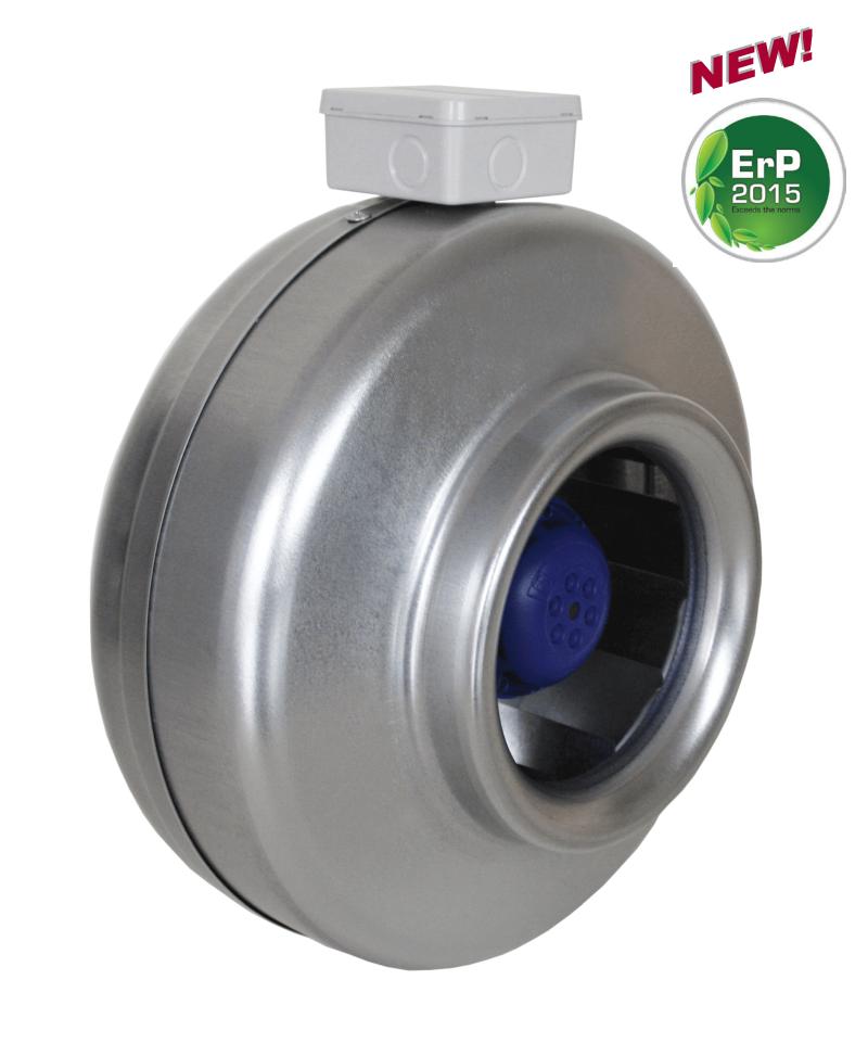 Круглый канальный вентилятор Salda VKAР 250 LD 3.0