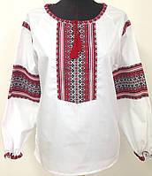 Жіноча сорочка з нашитою вишивкою